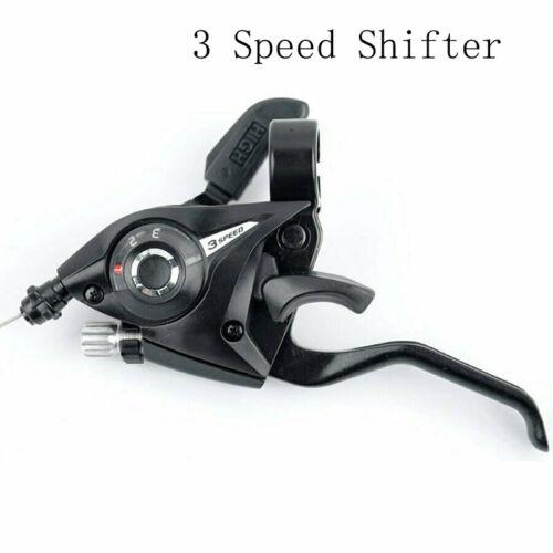 New Shimano ST-EF51 GEAR Shifter//Brake Lever 3 x 7,8 Speed or Set Black V-Brake