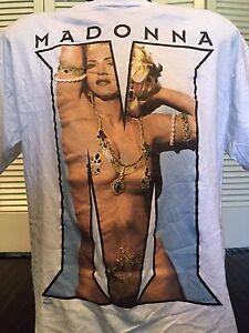 Vintage-92-Madonna-Nude-Tour-Shirt-Sz-XL-Punk-Rock-Alternative-New-Wave-Pop-Sex