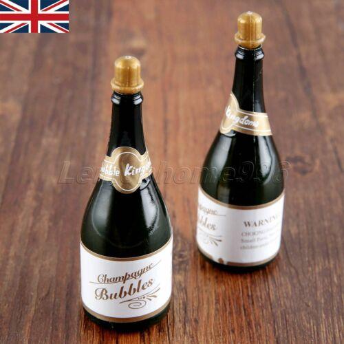 2//10pcs Champagne Bouteille Bulles Fête de mariage faveurs ROMANTIQUE DECOR bouteilles HQ