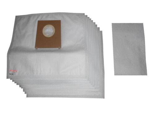 62022//03 62022//04 10 Vlies Staubsaugerbeutel passend für Bosch Logo BSG