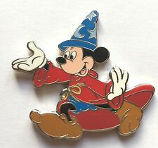RARE Disney Pin Badge WDI - Happy Halloween 2006 - Sorcerer Mickey Mouse le500