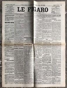 N127-La-Une-Du-Journal-Le-Figaro-1er-Aout-1914