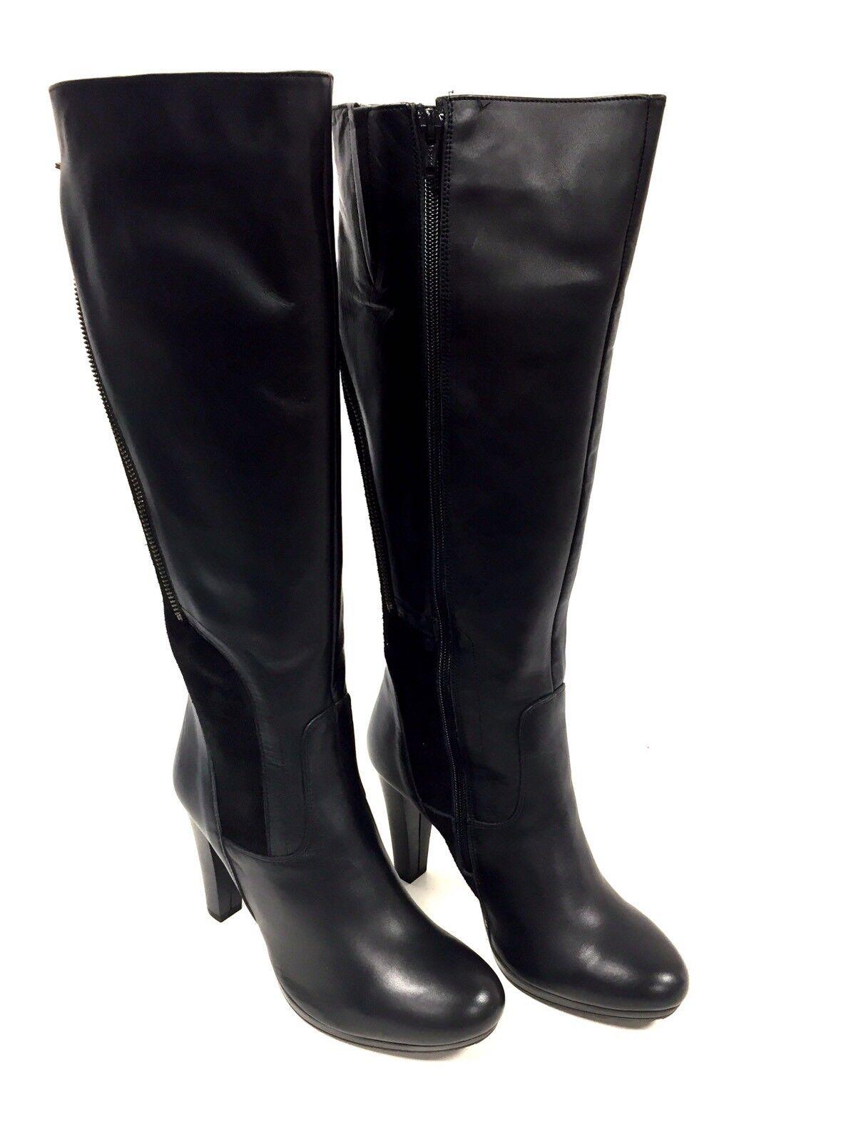 kvinnor svart läder pascal morbito Storlek 40 fr  8 us