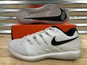 ae2cad7e0455 Nike Air Zoom Vapor X HC Tennis Shoes Wide White Black Grey SZ ...