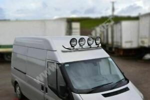Pour-ford-Transit-Fiat-Ducato-Master-Mercedes-Sprinter-Toit-Leger-Barre-amp-Lampes