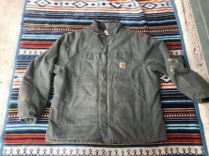 Carhartt C26 MOS / Cotton Sandstone Duck Jacket / Pre ...