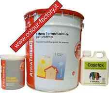 Atriathermika:Pittura termica 13LT+Primer termico 0,75LT+Battericida Capatox 1lt