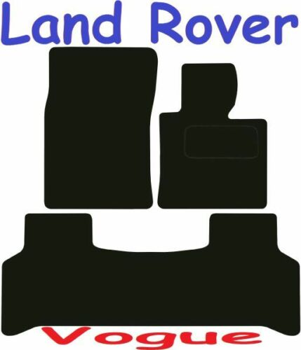 Land Rover L322 Vogue Tailored car mats ** Deluxe Quality ** 2012 2011 2010 2009