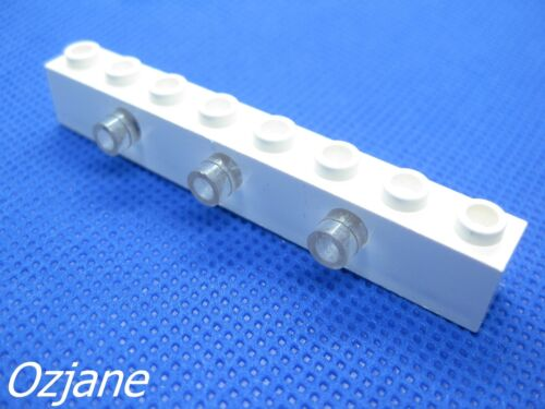 LEGO PART 2500c01 ELECTRIC LIGHT BRICK 1 X 8 WITH 3 PRISM LIGHTS
