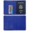 Slim-Leather-Travel-Passport-Wallet-Holder-RFID-Blocking-ID-Card-Case-Cover-US thumbnail 29