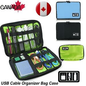 Electronic-Accessories-Storage-USB-Cable-Organizer-Bag-Case-Drive-Travel-Insert