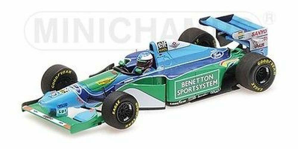 gran selección y entrega rápida Colección de de de coche en miniatura Minichamps Minichamps 447940405 Azul verde blancoo  Ahorre 60% de descuento y envío rápido a todo el mundo.