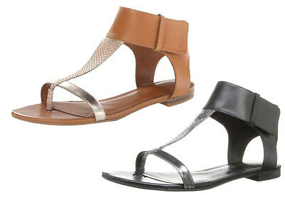 Enzo Angiolini Women's Tilah Dress Gladiator Sandal, Natural Combo, Black