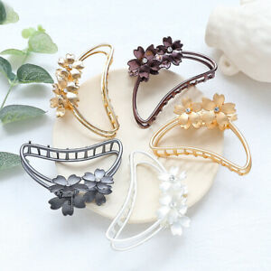 Women-Hollow-Metal-Hair-Clips-Large-Size-Bathing-Disk-Hair-Claw-Hair-Accessories