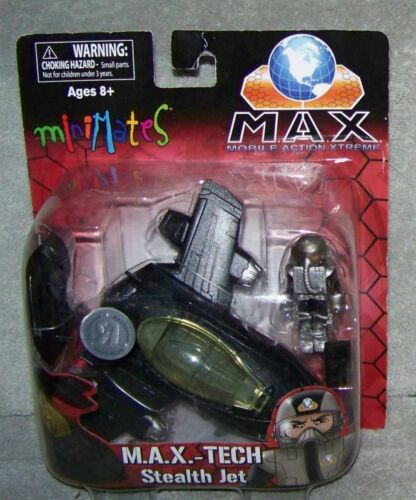 Minimates M.A.X. Tech Stealth Jet Set TOYS R US exclusive mobile action Xtreme