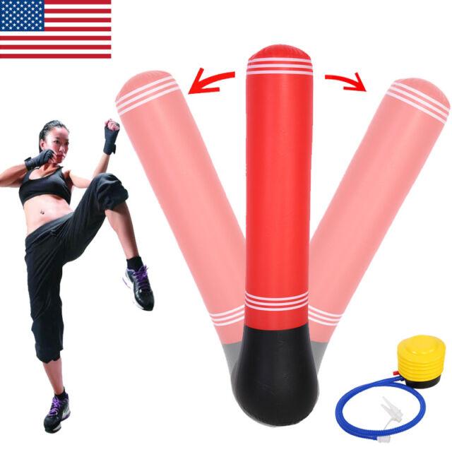 Inflatable Punching Bag Boxing Toy Karate Taekwondo Kids Sports Bop Child Sport