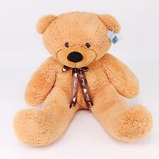 "Joyfay®39"" 100cm Orange Teddy Bear Giant Big Huge Plush Toy Birthday Gift"
