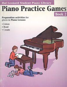 100% Vrai Hal Leonard Piano Pratique Jeux Livre 2 Théorie Technique De Créativité-afficher Le Titre D'origine