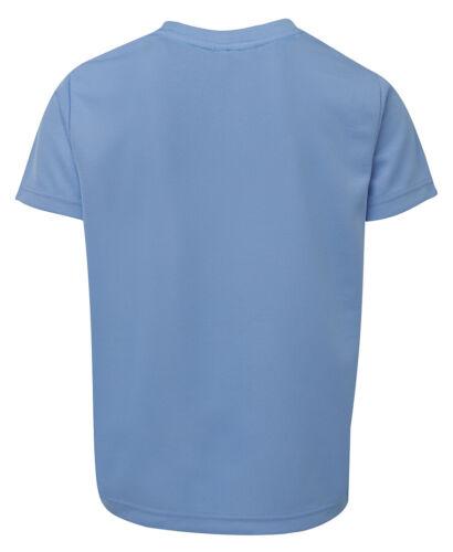 Podium Teamwear Kids Color Sports Moisture Wicking Fabric Quick drying Tee Shirt