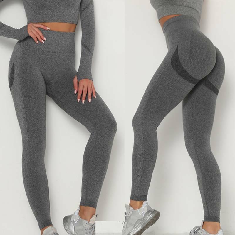 Women Anti-Cellulite Yoga Pants Ruched Scrunch Push Up High Waist Leggings Booty