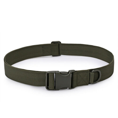 Army Military Combat Tactical Belt Quick Release Men Waistband Outdoor Durable
