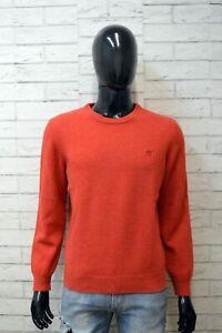 HENRY-COTTON-039-S-Maglione-Taglia-S-Cardigan-Maglia-Pullover-Lana-Uomo-Man-Sweater