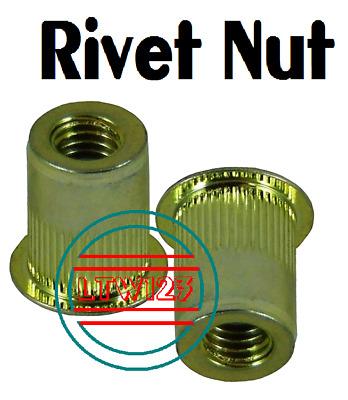 10 3//8-16 Zinc Steel Rivnut Blind Rivet Nut Nutsert