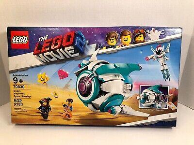 Lego The Lego Movie 2 Sweet Mayhem S Systar Starship 70830 New Sealed 673419302296 Ebay