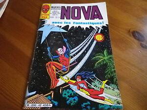 NOVA-n-42-de-1981-SPIDER-MAN-SPIDER-WOMAN-LES-FANTASTIQUES-TBE-comme-neuf