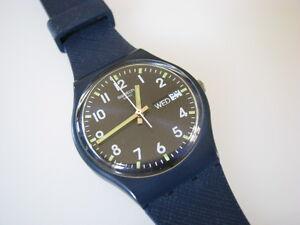 6a47b784e7d A imagem está carregando Sir-Azul-Azul-Swatch-com-Dia-data-Cinta-