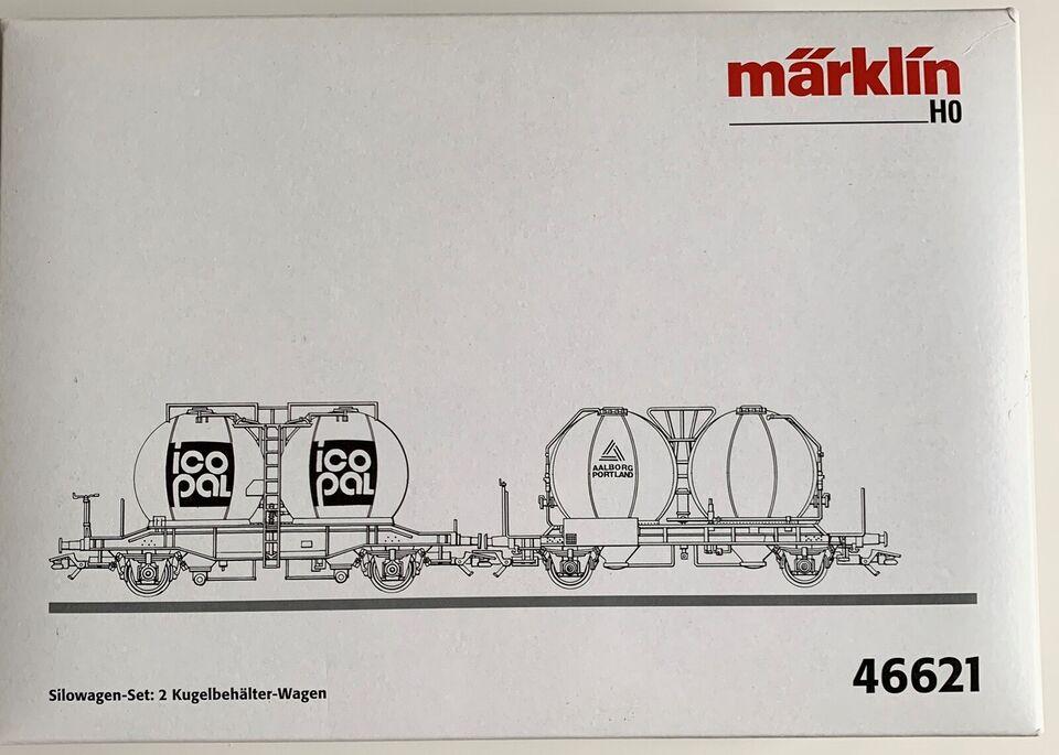 Modeltog, Marklin 46621 til Jævnstrøms kørsel Isopal og
