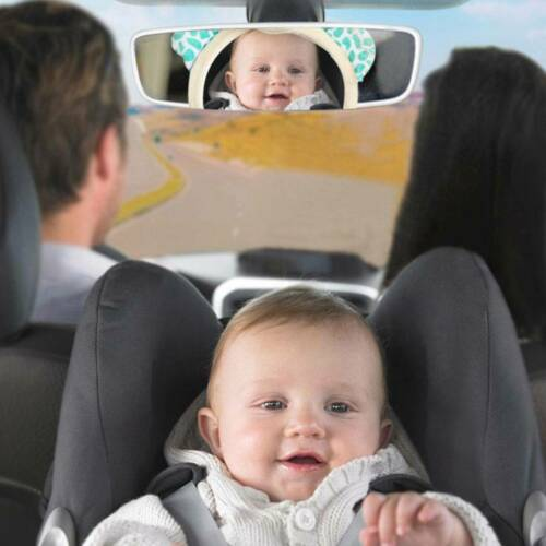 Baby Child Wide View Rear Seat Back Mirror Car Safety Headrest Mount Adjustable