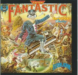 Elton John -Captain Fantastic And The Brown Dirt Cowboy CD with bonus tracks