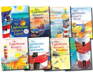 The-Lighthouse-Keeper-039-s-Lunch-Collection-8-Books-Set-Cat-Picnic-Tea-Rescue