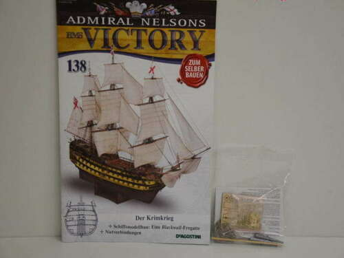 Modellbau Admiral Nelsons HMS Victory Hefte Nr 121 bis 140 nach Wahl