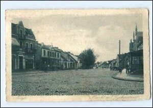 V1510/ Arys Markt mit Lyckerstraße Ostpreußen AK 1932