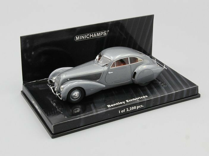 Minichamps 1 43 Bentley Embiricos 1938 Plata L.E. 2208 2208 2208 PCS. 611b66