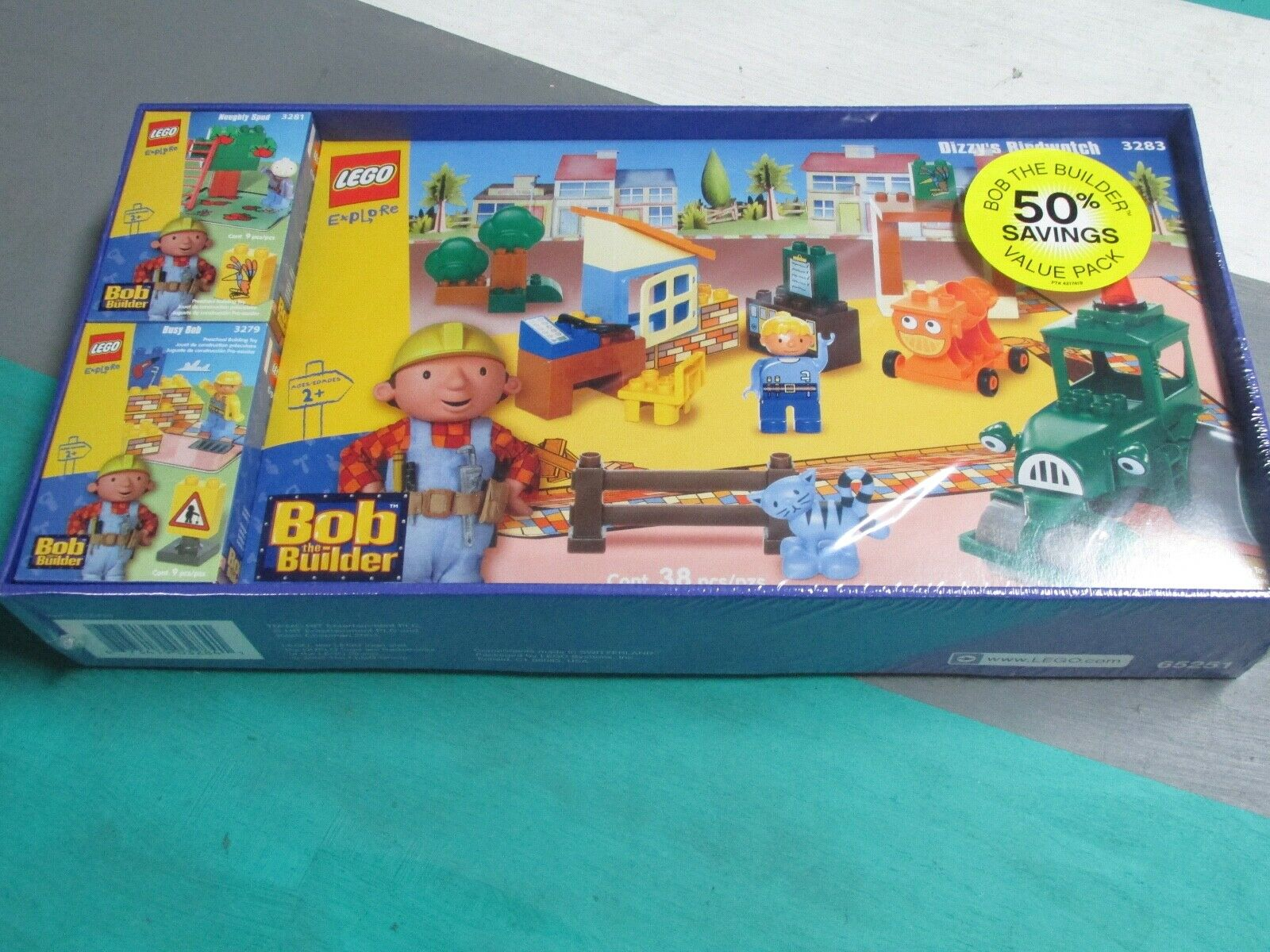 Nuevo LEGO Bob The Builder 3281 3279 3283 mareado's Birdwatch Travieso Spud ocupado Bob