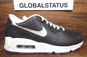 the latest 16b98 c1ac3 WOMENS NIKE ID AIR MAX 90 HYPERFUSE BLACK WHITE PREMIUM SHOES 822578 ...