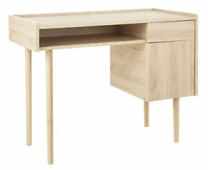 Habitat Skandi 1 Drawer Desk - Oak Effect