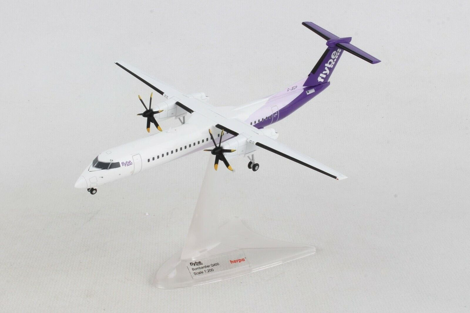 Herpa Wings Flybe  New Farbe  Bombardier Q400  1 200