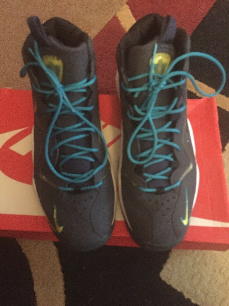 Nike Air Max PIPPEN 1 NAVY BLUE SONIC YELLOW TROPICAL TEAL WHITE 325001400 Sz 11 Seasonal clearance sale