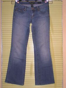 Very-Nice-SEVEN-7-Jeans-STRETCH-FLARE-Size-29-30-x-32-Blue-Denim