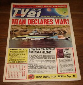 TV-CENTURY-21-TV21-COMIC-NO-5-GERRY-ANDERSON-THUNDERBIRDS-DR-WHO-STINGRAY-XL5