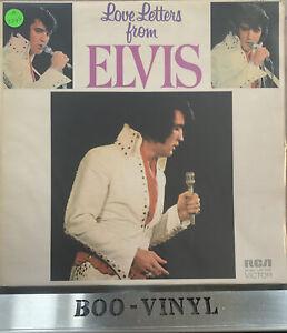 Elvis Presley Love Letters From Elvis LP (RCA LSP-4530) SF 8202 VG+ / VG+