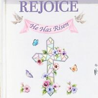 Rejoice Easter Cross Garage Door Magnet