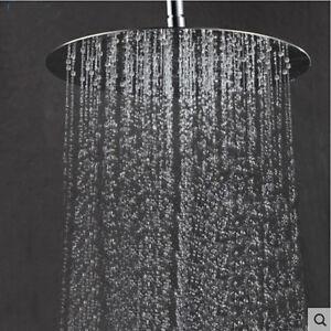 8-034-Round-Rain-Shower-Head-Polished-Chrome-Stainless-Steel-Shower