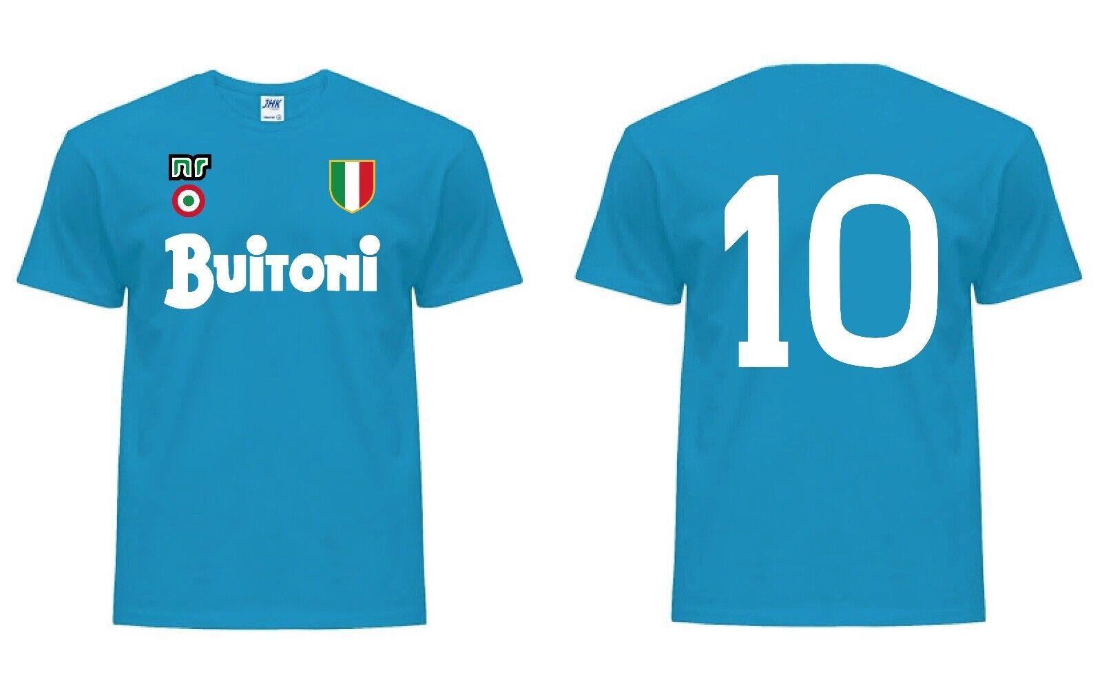 Maglia MARADONA 10 calcio NAPOLI 1987 1988 maglietta scudetto coppa Italia Italy