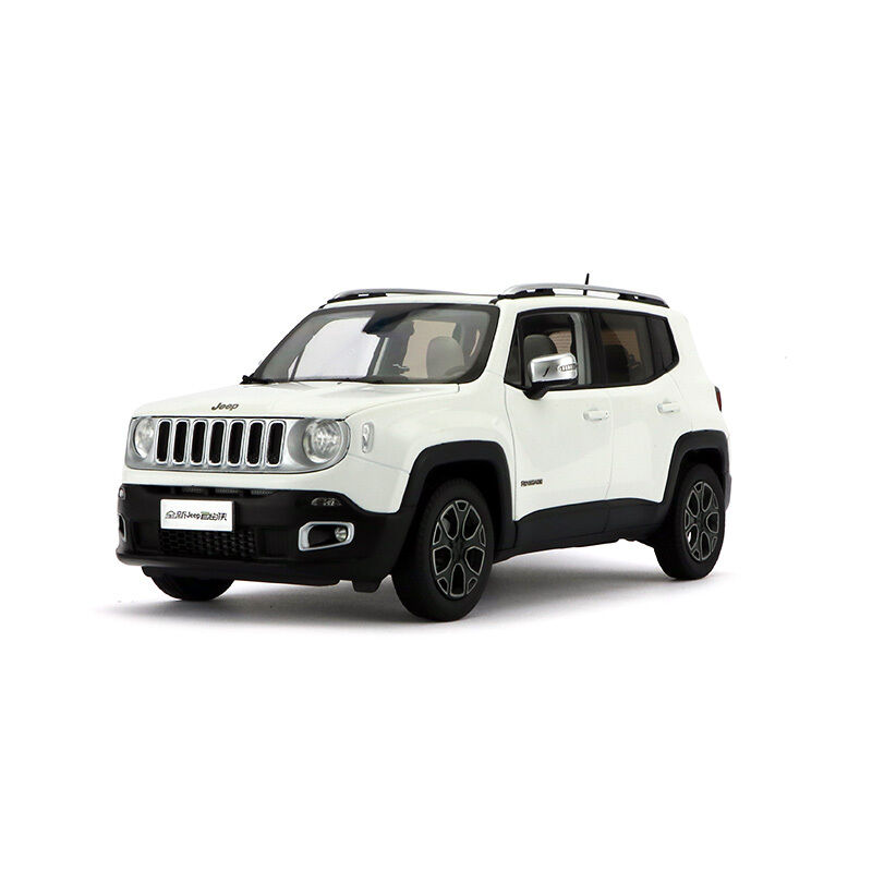 ORIGINAL MODEL 1 18 Jeep Renegade Limited 2016,Chrysler,WHITE