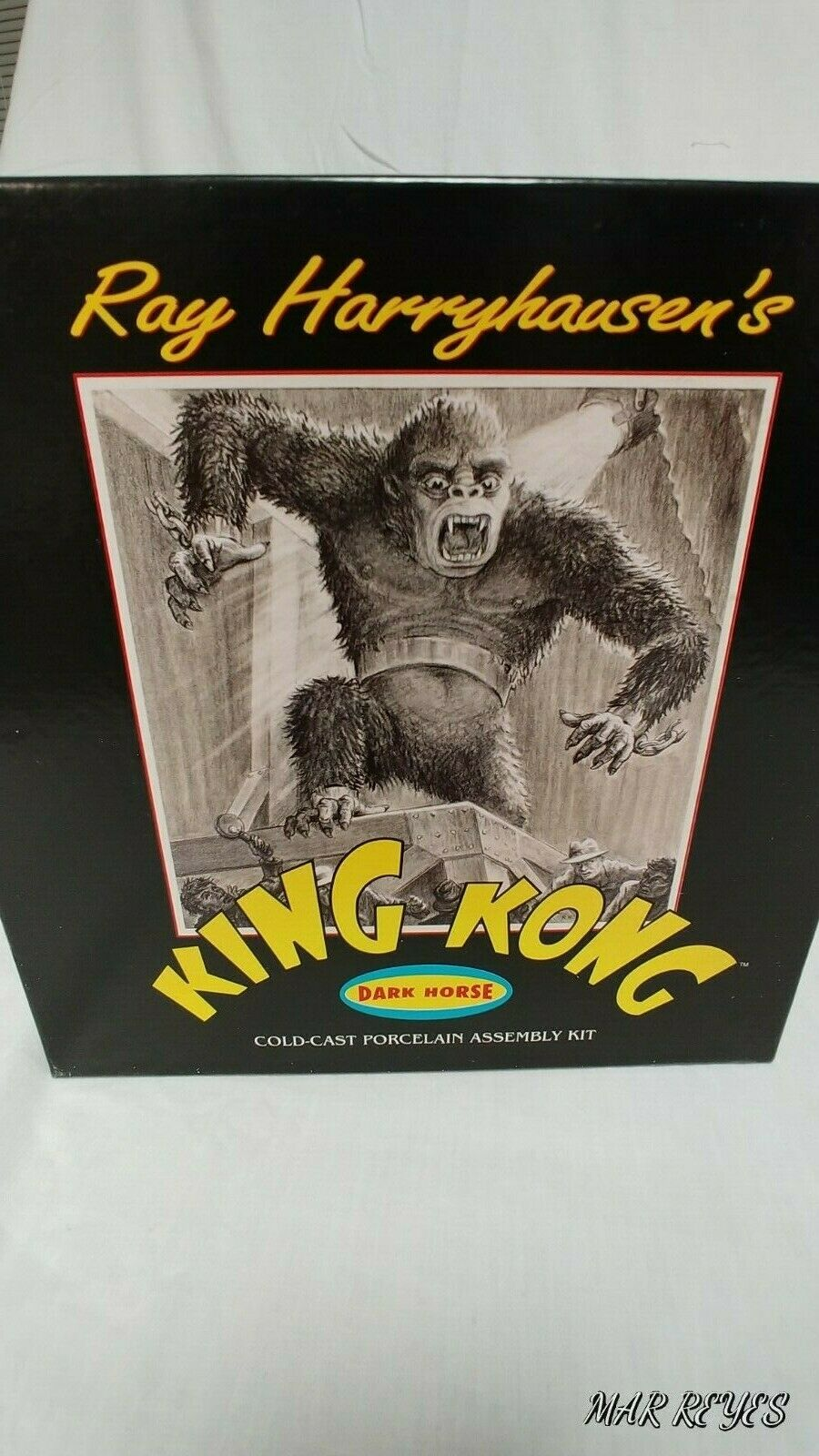 KING KONG  1 48 scale Cold-cast porcelain assembly kit by DARK HORSE 125